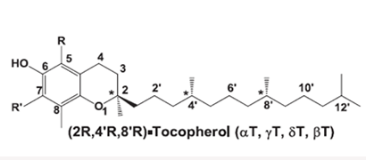 Diagram 2: Tocopherol molecule