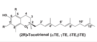 Diagram 1: Tocotrienol molecule