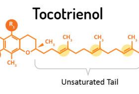 Tocotrienol-unsaturated vitamin E